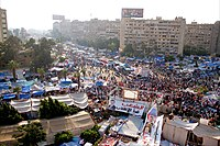 Anti-coup sit-in at Rabaa Adiweya mosque 2013.jpg