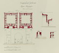 Antiquities of Samarkand. Shir Dar Madrasah. Plan, Elevation, and Sections WDL3933.png