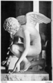 Antoine-Denis Chaudet (1763-1810) - L'Amour (Cupid and the Butterfly), completed posthumously by Pierre Cartellier (1817), left (28216991149).png