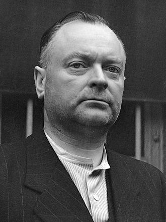Anton Mussert - Anton Mussert in 1945