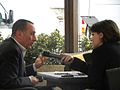 Antonio Polito and interviewer - International Journalism Festival 2010.jpg