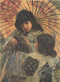 AokiShigeru-1909-Two Girls-2.png