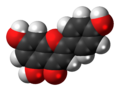 Apigenin molecule spacefill.png