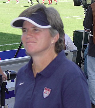 April Heinrichs - Heinrichs at the 2003 World Cup