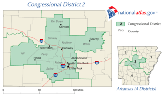 United States House of Representatives elections in Arkansas, 2006 - Image: Ar 02 109