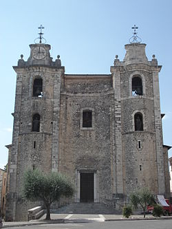 Parish church of Sts. Peter and Paul.