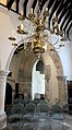 Arch and chandelier in St John the Baptist Church Winchester.jpg