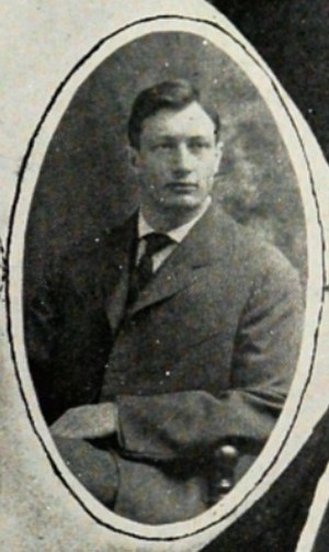 Archie Webb - Webb pictured in The Round-Up 1906, Baylor yearbook