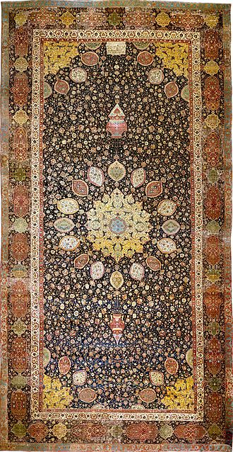 Carpet -  One of the Ardabil Carpets