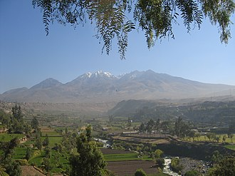 Irrigation in Peru - Irrigation in the Chili Valley in the Arequipa Region