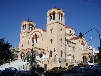 Argyroupoli - The church of the Holy Trinity