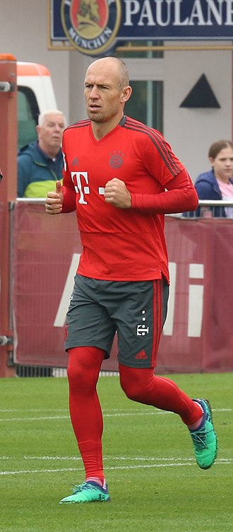 Arjen Robben - Robben training with Bayern Munich in 2018