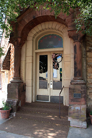 National Register of Historic Places listings in Pawnee County, Oklahoma - Image: Arkansas Bank 2