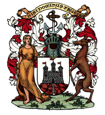 File:Arms of Edinburgh.png (Quelle: Wikimedia)