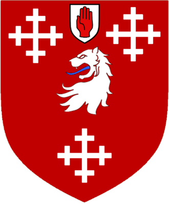 Armytage baronets - The arms of the baronets
