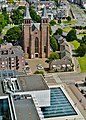 Arnhem Blick von der Grote Kerk Sint Eusebius auf die Walburgiskerk 3.jpg