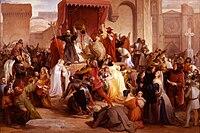 Artgate Fondazione Cariplo - Hayez Francesco, Papa Urbano II sulla piazza di Clermont predica la prima crociata.jpg