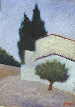 Ottone Rosai - Paesaggio, 1949 (Fondazione Cariplo)