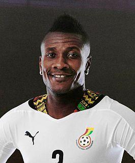 Asamoah Gyan Ghanaian footballer