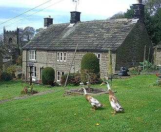 Listed buildings in Sheffield S6 - Image: Ashby Cottage, High Bradfield