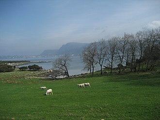Rennesøy - View of a farm on Mosterøy island