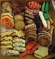 Assorted cookies in a box at a party.jpg