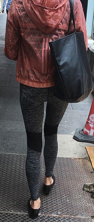 Athleisure - Athleisurewear: windbreaker and leggings