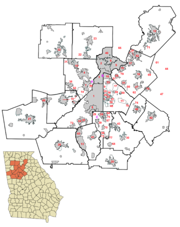 Roswell Zip Code Map.Atlanta Metropolitan Area Wikipedia