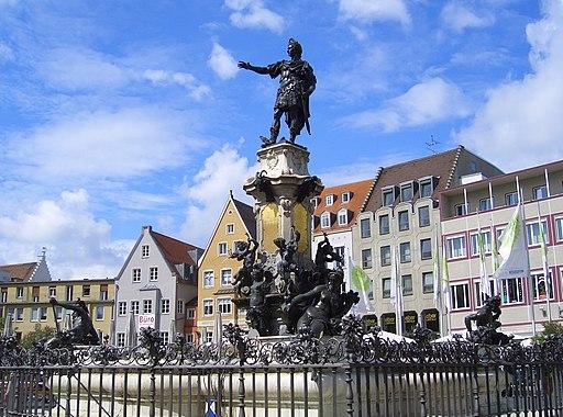 Augsburg Augustusbrunnen 4