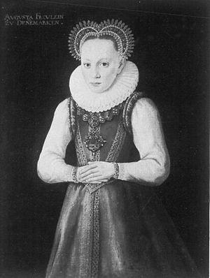 Augusta of Denmark - Image: Augusta de Danemark
