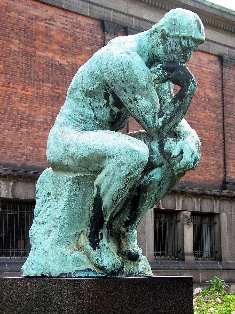 Auguste Rodin - Grubleren 2005-03