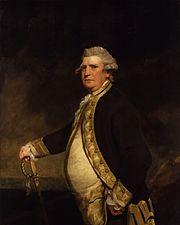 Augustus Keppel, Viscount Keppel by Sir Joshua Reynolds