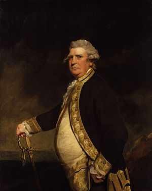 1779 in art - Image: Augustus Keppel, Viscount Keppel by Sir Joshua Reynolds