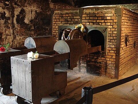 krematorium, Auschwitz Birkenau