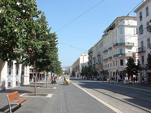 Avenue Jean-Médecin, Nice, Provence-Alpes-Côte d'Azur, France - panoramio