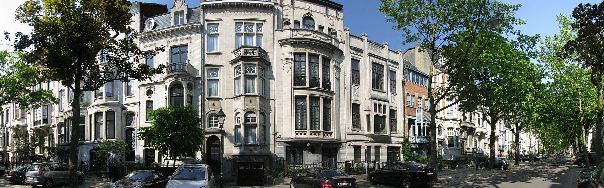 Avenue Molière - maisons de maîtres (Ixelles-Uccle)