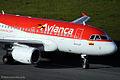 Avianca Airbus A318 N592EL (6156500334).jpg