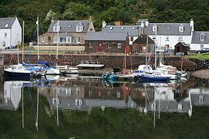 Avoch - Avoch harbour