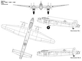 Avro Manchester 275px-Avro_Manchester