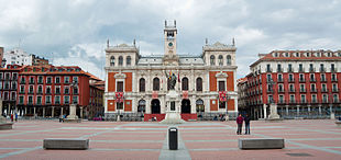 City Hall in the <em>Plaza Mayor</em>