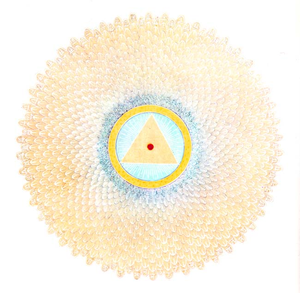 Sahasrara - Image of a Sahasrara Chakra with 1000 petals, in 20 layers of 50 petals each.