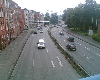 B 76 auf Höhe Krusenrotter Weg
