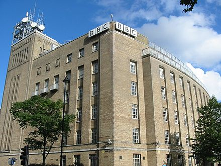 Broadcasting House, Belfast, home of BBC Northern Ireland BBC Northern Ireland Belfast.jpg