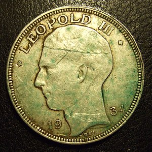 BELGIUM, LEOPOLD III 1934 ---20 FRANCS b.jpg