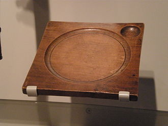 Trencher (tableware) - wood trencher