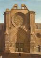 BMVB - Pedro Durán - Entrada de catedral gòtica (Tarragona) - 1083.tif