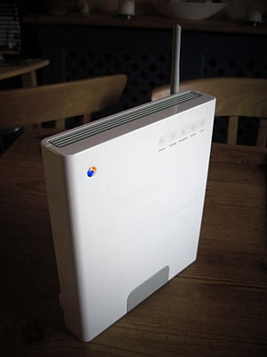 A picture of the BT Home Hub