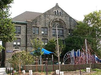 Bache-Martin Elementary School - Alexander Dallas Bache School, August 2010
