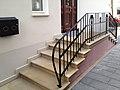 Bad Oeynhausen - Villa Valentino - Historische Treppenanlage, Sandstein Weser.jpg
