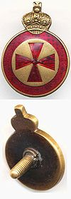 Знак к ордену Св. Анны 4-й степени для ношения на холодном оружии